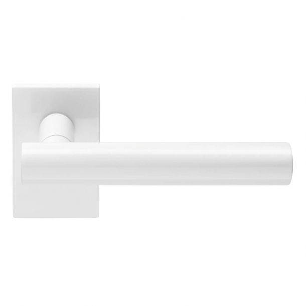 DND Door Handle - White - Design by 967arch - Model BLEND