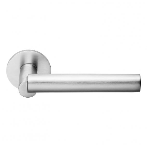 DND Door Handle - Satin Chrome - Odo Fioravanti - Model BOOLE