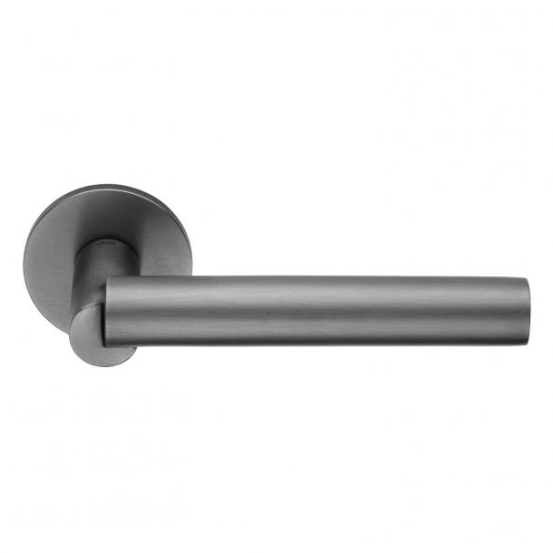 DND-dörrhandtag - Satengrafit - Odo Fioravanti - Modell BOOLE