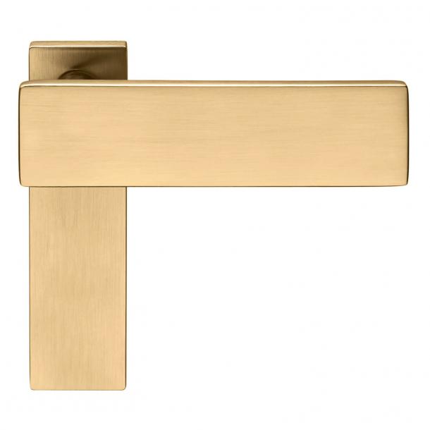 DND Door Handle - Satin gold - Stefano Boeri Architetti - Model DUE