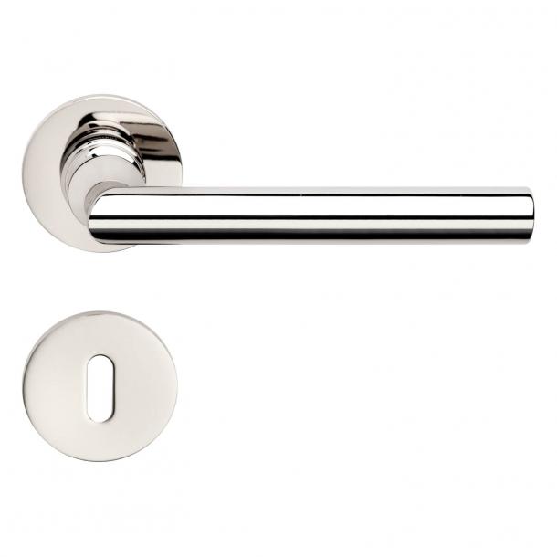 DND Door Handle - Polished chrome - Marco Pisati - Model ISABELLA