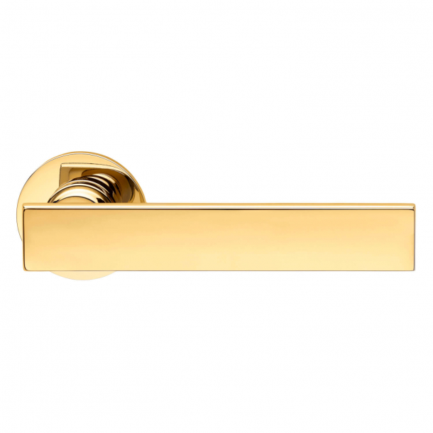 DND Door Handle - Antique bright gold - Marco Pisati - Model lUCREZIA