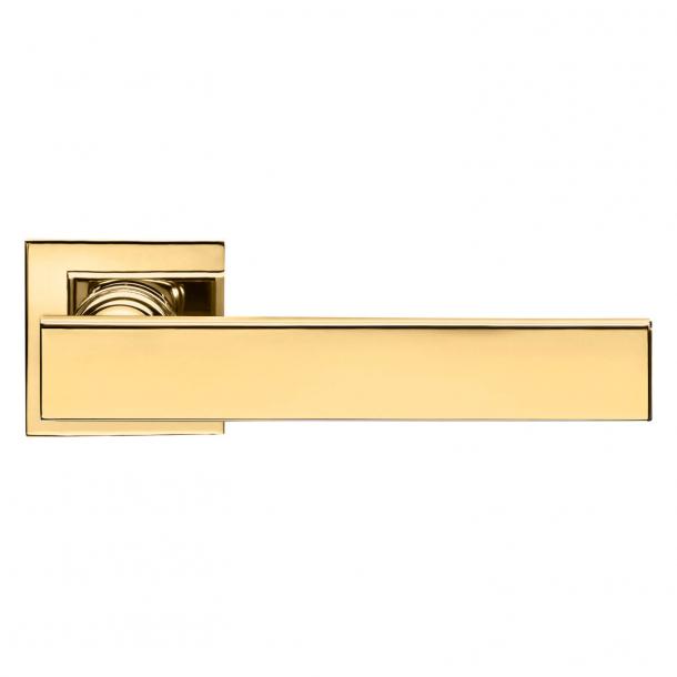 DND Door Handle - Antique bright gold - Marco Pisati - Model lUCREZIA 02