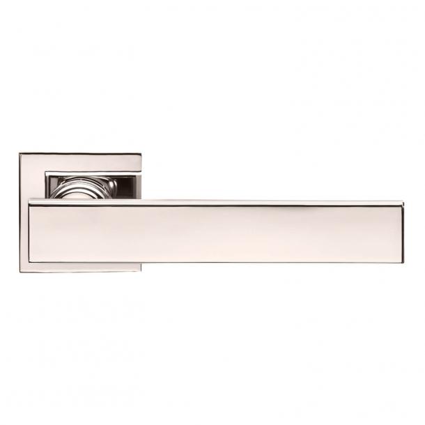 DND Door Handle - Polished nickel - Marco Pisati - Model lUCREZIA 02