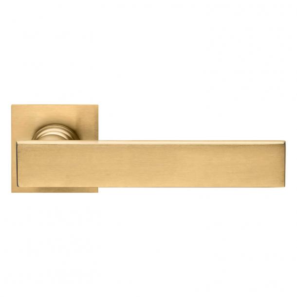 DND Door Handle - Antique satin gold - Marco Pisati - Model lUCREZIA 02