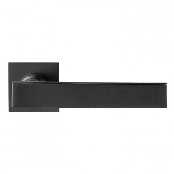 DND Door Handle - Satin graphite - Marco Pisati - Model lUCREZIA 02