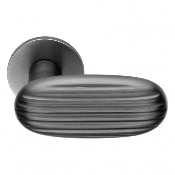 DND Door Handle - Satin graphite - Inga Sempé - Model MADELEINE