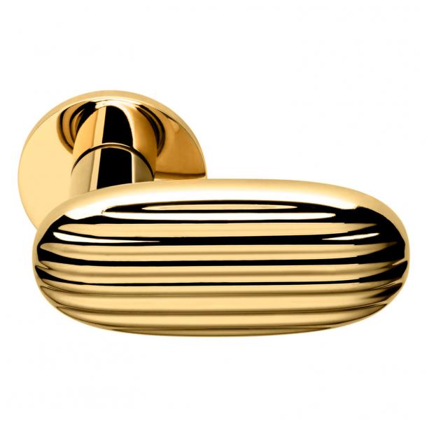 DND Dörrhandtag - Antikt glänsande guld - Inga Sempé - Modell MADELEINE