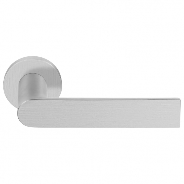 Door handle - FORMANI - ARC by Piet Boon - Brushed stainless steel - PBA101