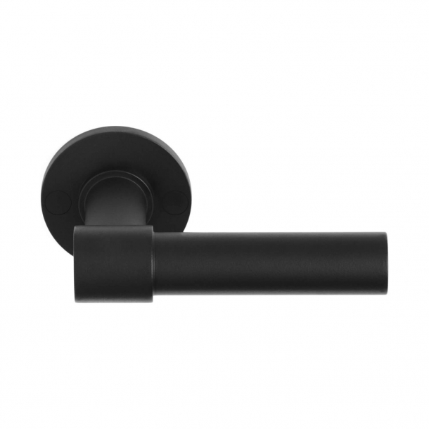 Door handle PBL20 / 50 - Matt black - Formani - Model ONE - Design by Piet Boon