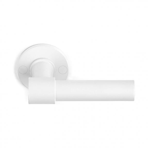 Dörrhandtag PBL20 / 50 - Vit - Formani - Modell ONE - Design av Piet Boon