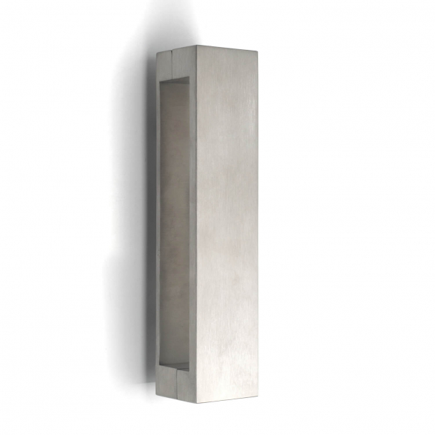Formani Door knocker - SQUARE - Brushed stainless steel - 40 x 175 mm - Model LSQ175