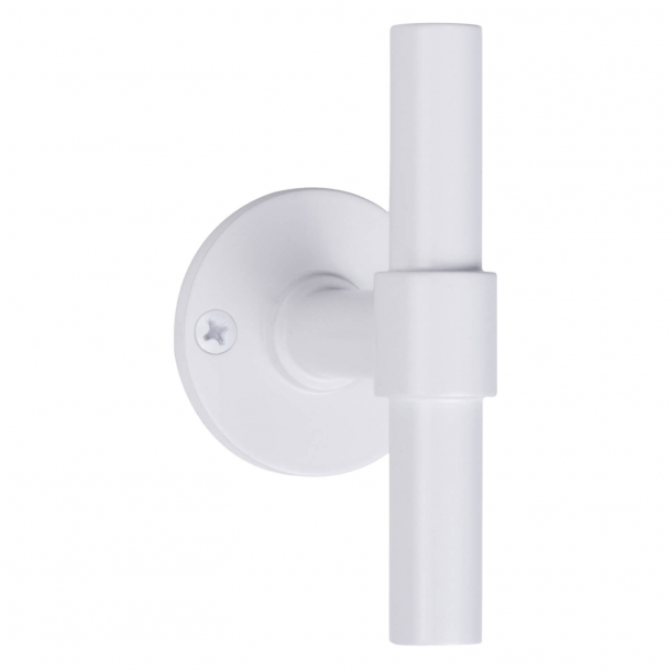 Formani Door handle - White stainless steel - Model PBT15V-50 -ONE by Piet Boon