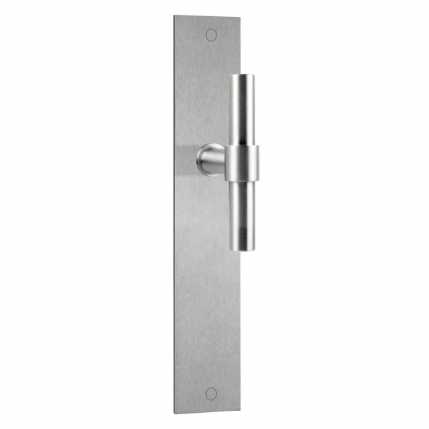 Formani Door handle - Satin stainless steel - Model PBT15P236SFC -ONE by Piet Boon