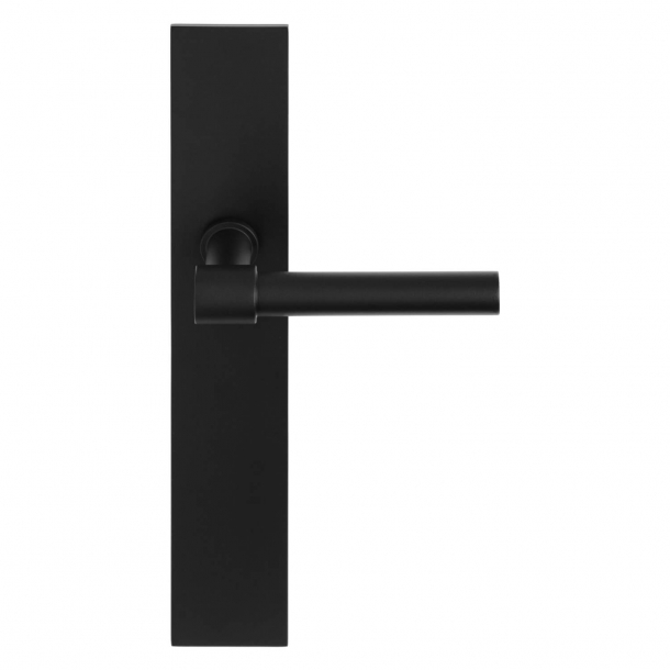 Formani Door handle - Satin black stainless steel - Model PBL15P236SFC -ONE by Piet Boon