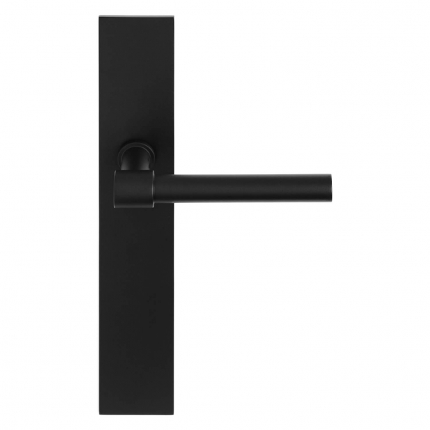 Formani Door handle - Satin black stainless steel - Model PBL15XLP236SFC -ONE by Piet Boon