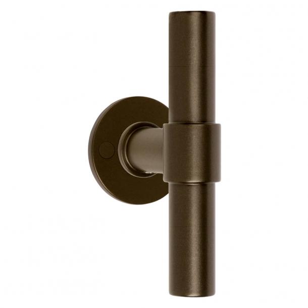 Formani Door handle - Bronze stainless steel - Model PBT20XL/50 -ONE by Piet Boon