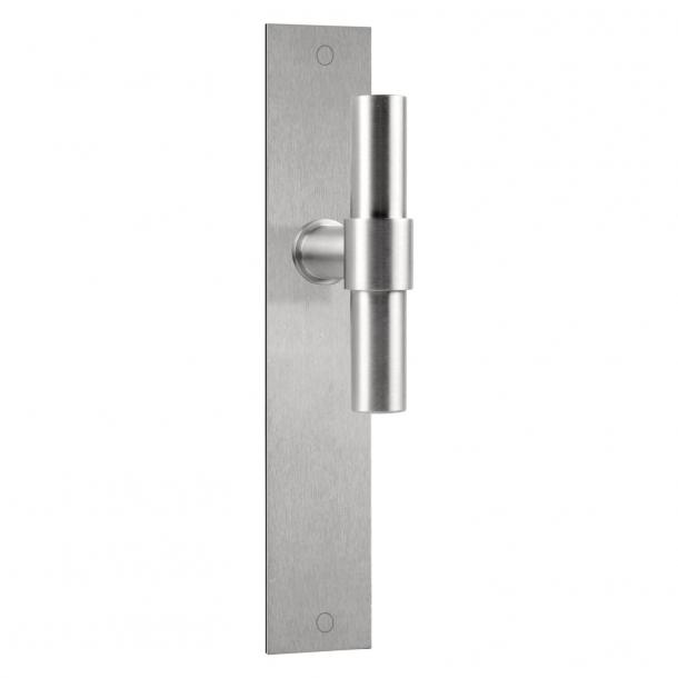 Formani Door handle - Satin stainless steel - Model PBT20XLP236SFC - ONE by Piet Boon
