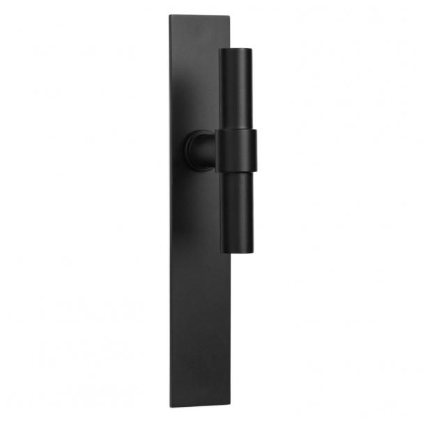 Formani Door handle - Satin black stainless steel - Model PBT20XLP236SFC -ONE by Piet Boon