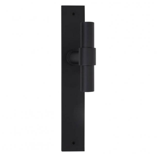Formani Door handle - Satin black stainless steel - Model PBT20VP236SFC - ONE by Piet Boon