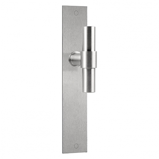 Formani Door handle - Satin stainless steel - Model PBT20P236SFC -ONE by Piet Boon