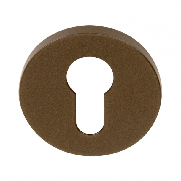 Cylinder ring - Europrofile - BBY53 - Bronze - Model TENSE - Design by Bertram Beerbaum