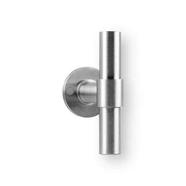 Formani Door handle - Satin stainless steel - Model PBT20XL/50 - ONE by Piet Boon