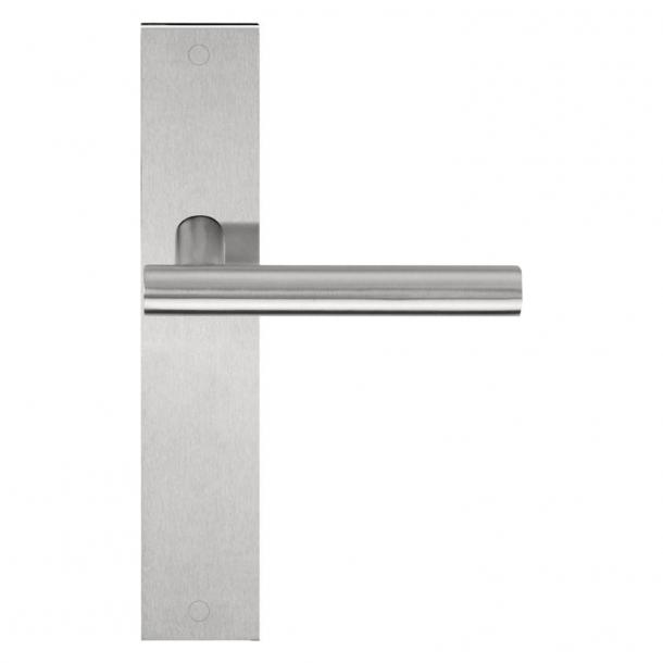 Formani Door handle - Satin stainless steel - Model LBVII-19 P236SFC -Basics