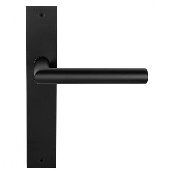 Formani Door handle - Satin black - Model LBII-19 P236SFC -Basics