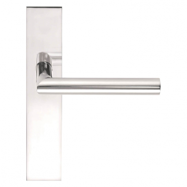 Formani Door handle - Polished stainless steel - Model LBII-19 P236SFC -Basics
