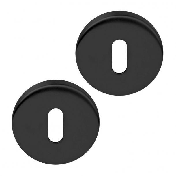 Escutcheon - Matte black - Model BASICS - Design by FORMANI