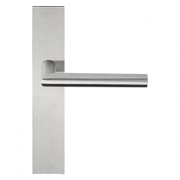 Formani Door handle - Satin stainless steel - Model LBII-19 P236SFC - Basics