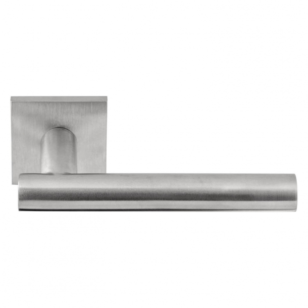 Formani Door handle - Satin stainless steel - Model LBVII-19 Q50 - Basics