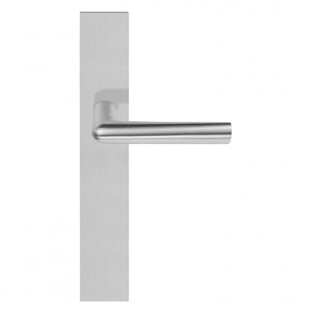 Formani Door handle - Satin stainless steel - Model PBI100P236SFC - INC by Piet Boon