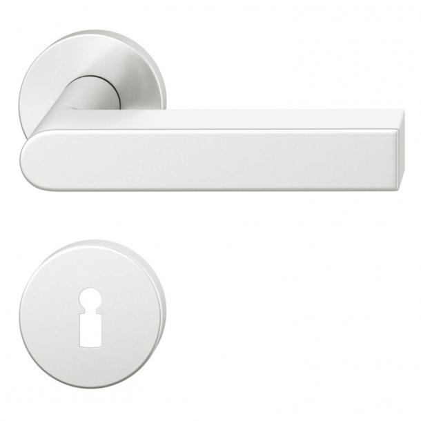FSB Door handle - Brushed aluminium - Peter Bastian - Model 1001