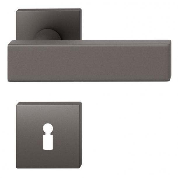 FSB Door handle - Dark bronze brushed aluminium - Johannes Potente - Model 1003