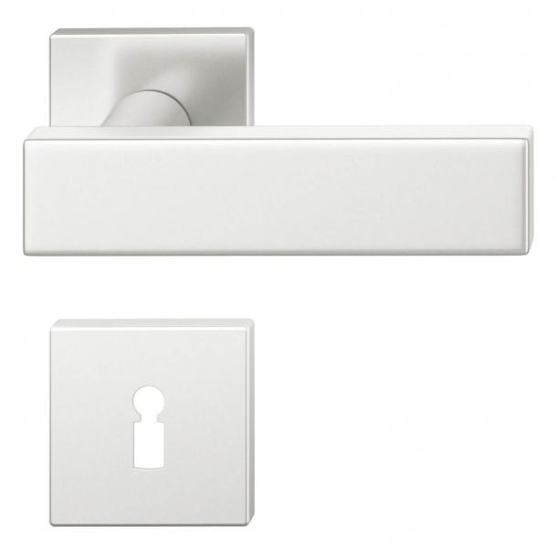 FSB Door handle - Brushed aluminium - Johannes Potente - Model 1003