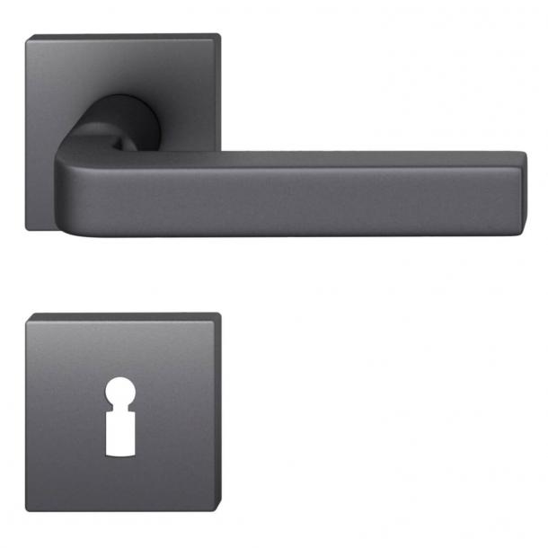 FSB Door handle - Black aluminium - David Chipperfield - Model 1004