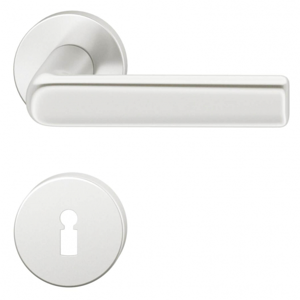 FSB Door handle - Brushed aluminium - Hans Poelzig - Model 1012