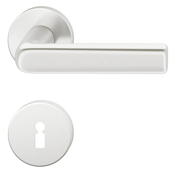 FSB Door handle - Brushed aluminium - Hans Poelzig - Model 1012