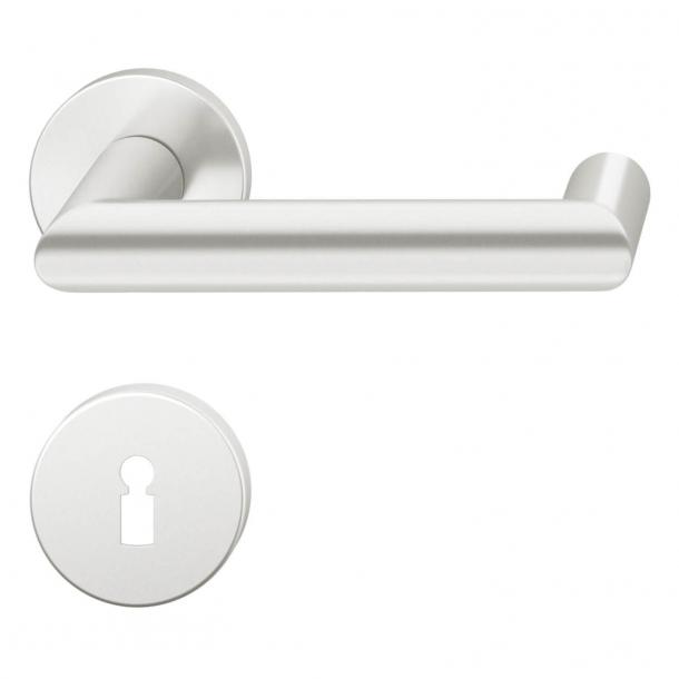 FSB Door handle - Brushed aluminium - FSB Workshop - Model 1016