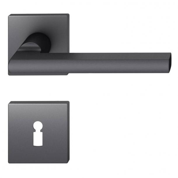 FSB Door handle - Black aluminium - Heike Falkenberg - Model 1035