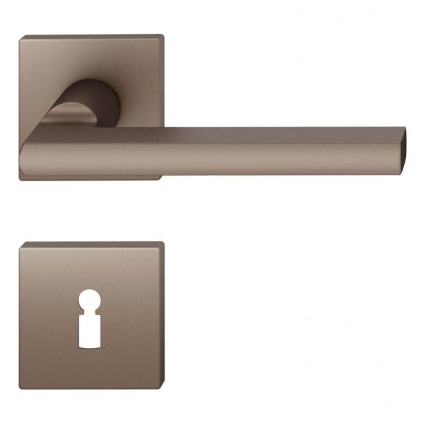 FSB Door handle - Medium bronze brushed aluminium - Heike Falkenberg - Model 1035