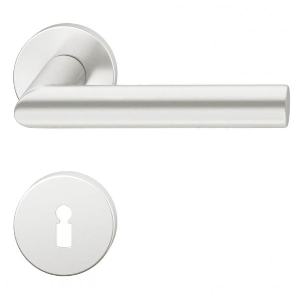 FSB Door handle - Brushed aluminium - Robert Mallet-Stevens - Model 1076