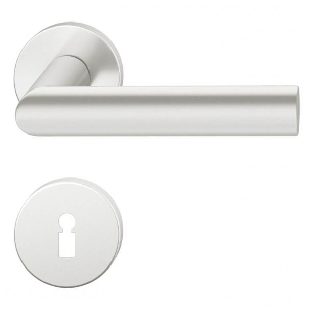 FSB Door handle - Brushed aluminium - Hartmut Weise - Model 1108