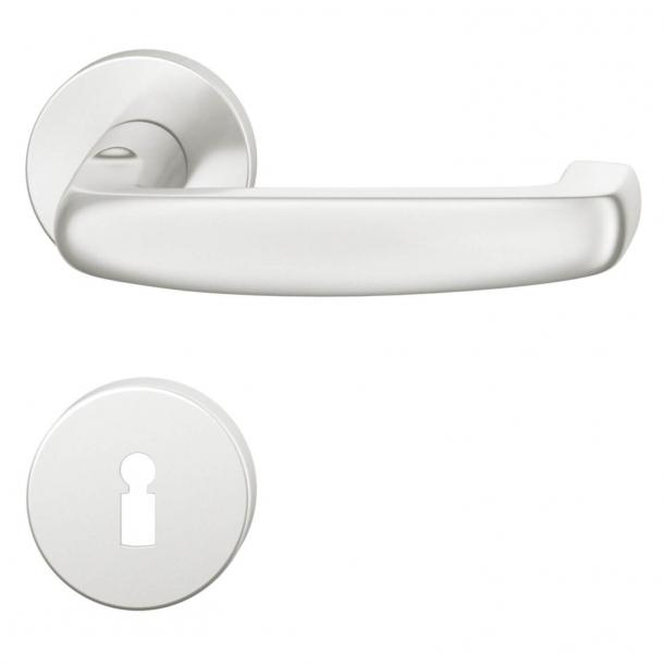 FSB Door handle - Brushed aluminium - Ortner & Ortner - Model 1159