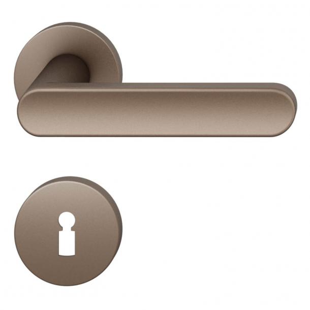 FSB Door handle - Medium bronze brushed aluminium - FSB Workshop - Model 1259