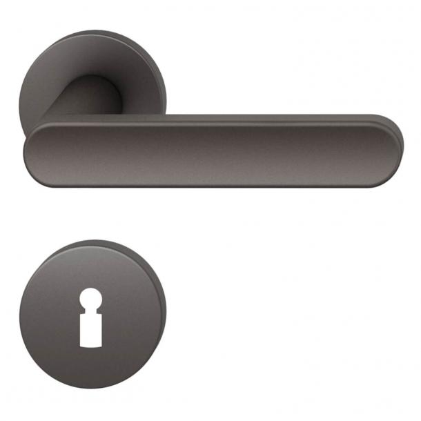 FSB Door handle - Dark bronze brushed aluminium - FSB Workshop - Model 1259