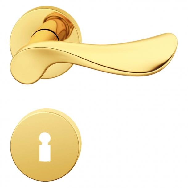 Dörrhandtagsmässa - Inomhus - Design av Johannes Potente - Modell 1020