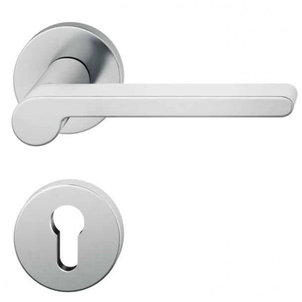 Klamka do drzwi - Rozeta na zamek cylindryczny - Lata 30. - Model 1005